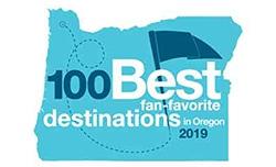 100 Best destination logo
