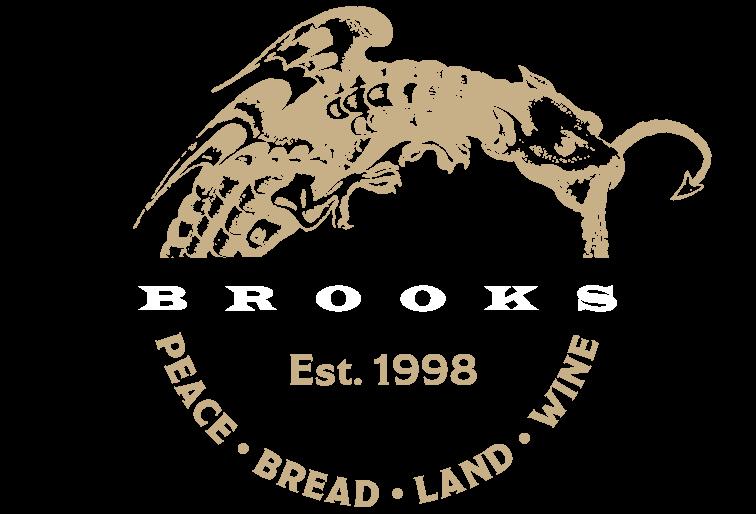 Brooks wine logo