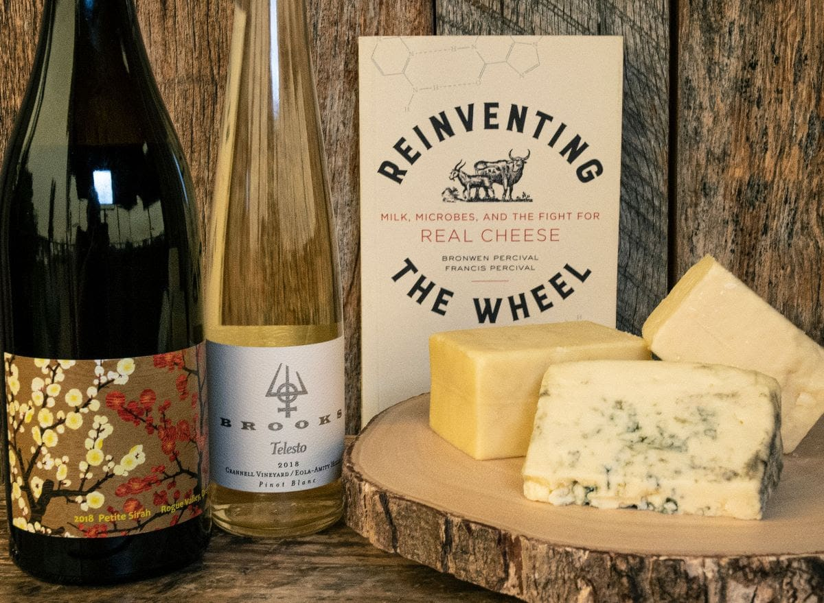 Brooks Wine and cheese pairing